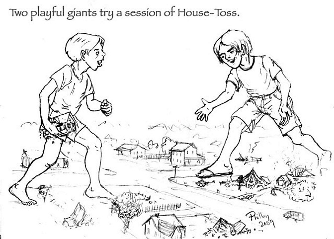 House tossing